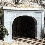N Double Tunnel Portal, Concrete (2)