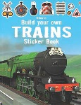 Build Your Own Trains Sticker Book 10 Pages of Stickers