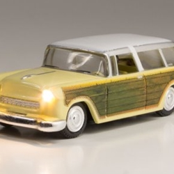 Woodland Scenics Co Station Wagon - Just Plug(R) Lighted Vehicle