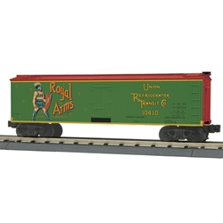 30-78194 MTH Railking 40' Woodsided Reefer Car - Royal Arms