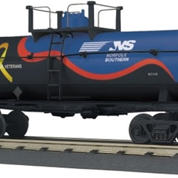 30-73522 MTH Railking Smoking Tank Car - Norfolk Southern (Veterans)