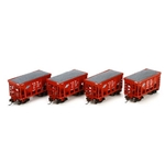 Athearn RTR 24' Ribbed Ore Car w/Load, C&NW #1 (4)