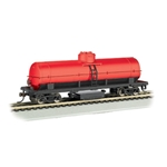 Track Cleaning Tank Car, Oxide Red
