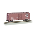 Bachmann 17018 Pullman-Standard 40' Steel Boxcar - Ready to Run - Silver Series(R)