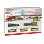 Bachmann N Scale Spirit of Christmas Train Set