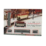 BACHMANN BAC25100 On30 Norman Rockwell Main Street Christmas Set
