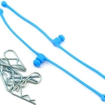 Body Klip Retainers, Blue (2)