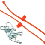 Body-Klip Retainer Orange