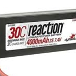 Reaction 7.4V 4000mAh 2S 30C LiPo