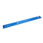 Deluxe Scale Model Ruler, Aluminum