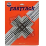6-12019 Lionel FasTrack 90 Degree Crossover