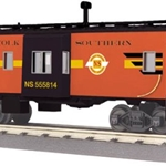 30-77251 MTH Railking Norfolk Southern (NS Heritage Series) Bay Window Caboose
