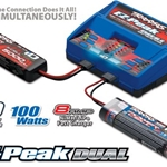 2972 Traxxas EZ-Peak Plus 100W Dual Charger