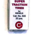 Calument HO Diesel Traction Tires 20 pcs
