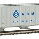 55' Evans 4780 Covered Hopper - Ready To Run Archer Daniels Midland #60116