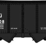 "USRA 30'6"" 2-Bay Hopper w/Load - Ready to Run Central Railroad of New Jersey (black, Liberty Logo)"