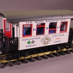 LGB 3007CC 1989 MRRC Diner Car - Indianapolis, Collection Item