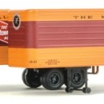 35' Fluted-Side Trailer 2-Pack - Assembled Milwaukee Road