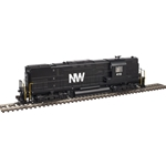 Alco C420 Phase 2A High-Nose, Dynamic Brakes - Standard DC Norfolk & Western #415 (black, white, La)