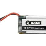 1S 3.7V 300mAh Lipo Battery; Orbit FPV