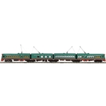 O Scale Premier 4-Car Electroliner Set with Proto-Sound 3.0