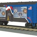 30-79527 MTH Railking Operating Action Car - Norfolk Southern (Veterans)