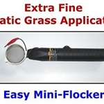 EASY MINI Static Flock Grass Applicator SCENIC MODELLING O HO N Scale Layout