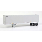 45' Stoughton Trailer 2-Pack - Assembled United Parcel Service UPSZ (gray)