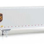 45' Stoughton Trailer 2-Pack - Assembled United Parcel Service (Modern Shield Logo)