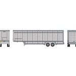 N 40' Drop Sill Parcel Trailer, UPS/No Logo #87969