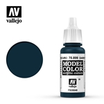 17ml Bottle Dark Prussian Blue Model Color