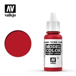17ml Bottle Carmine Red Model Color