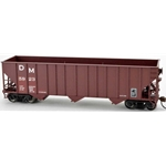 100-Ton Hopper Car, Detroit and Mackinac (Red) #5925