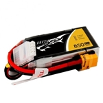 Tattu 850mAh 11.1V 45C 3S1P Lipo Battery Pack with XT60 plug