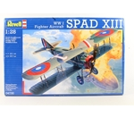 1/28 WWI Spad XIII BiPlane Fighter