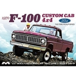 1/25 1970 Ford F-100 Custom Cab 4x4
