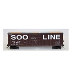 Soo Line-Built 7-Post 50' Plug-Door Boxcar