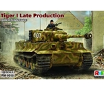 Ryefield 1/35 Tiger I Sd.Kfz.181 Pz.Kpfw.VI Ausf.E Late Production