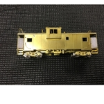 BRASS C&O International 'W-V' Caboose - Unpainted