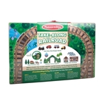 Take Along Tableotp Wooden Railroad