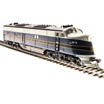 EMD E6 A-unit, B&O #58, Blue, Gray, Black Scheme, Paragon3 Sound/DC/DCC