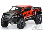 "Chevy Colorado ZR2 Clear Body 12.3"" WB Crawlers"