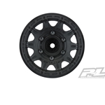 "Raid 2.8"" Black 6x30 Removable Hex Wheels F/R"