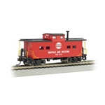 HO NE Steel Caboose, N&W/Red