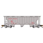 N PS-2 3-Bay Covered Hopper, UP
