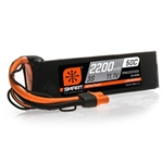 11.1V 2200mAh 3S 50C Smart LiPo Battery, IC3