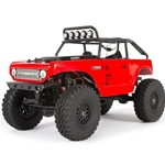 1/24 SCX24 Deadbolt 4WD Rock Crawler Brushed RTR, Red