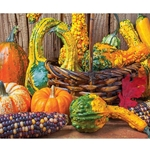 Harvest Colors 1000 Piece Jigsaw Puzzle