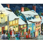 Christmas Carolers 1000 Piece Jigsaw Puzzle