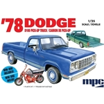 1/25 1978 Dodge D100 Custom Pickup 2T